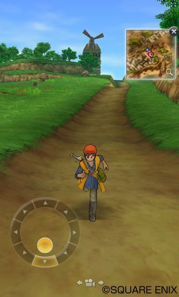 Dragon Quest VIII iOS screenshot