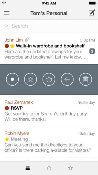 Dispatch inbox nieuwe stijl