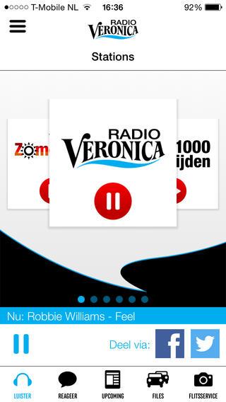 Radio Veronica zender iPhone