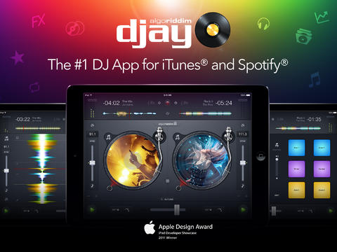 djay iPhone iPad Spotify integratie