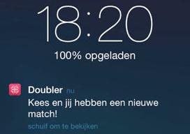 Doubler Tinder voor koppels iPhone