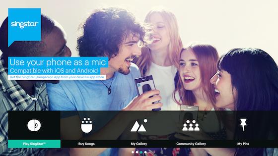 SingStar App iPhone PS4