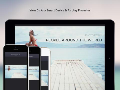 Preso.tv presenteren op iOS