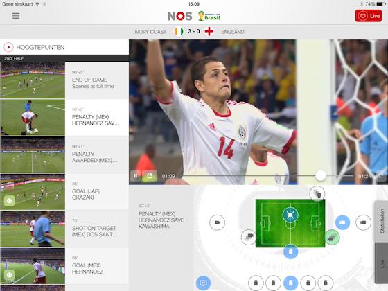 NOS WK 2014 App