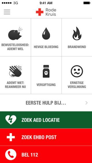 EHBO - Rode Kruis iPhone