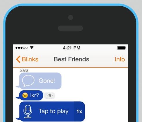 Blink iOS app