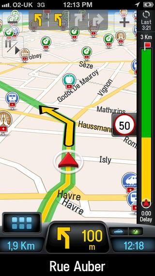 CoPilot GPS route navigatie
