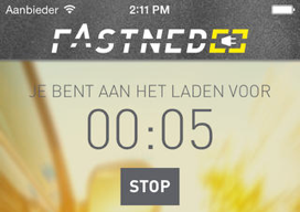 Fastned iPhone opladen