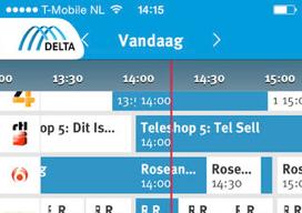 Delta TV iPhone iPad header
