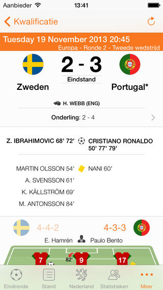 WK 2014 Pro iPhone wedstrijd