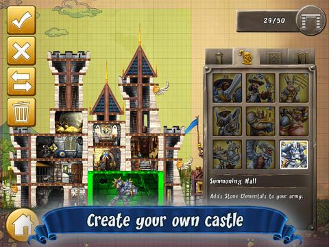 CastleStorm kasteel bouwen