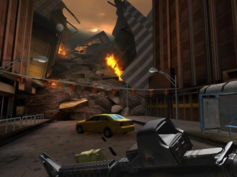 ICS Godzilla Aanvalszone iPhone