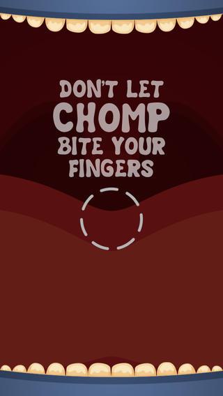 Chomp iPhone niet bijten