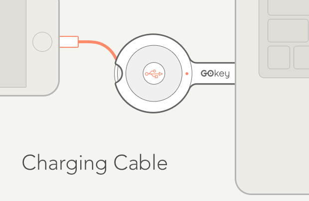 GOkey charging cable