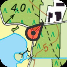 Topo GPS Nederland Belgie