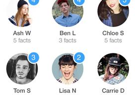 Contacten beheren op iPhone 3 apps