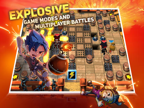 ICS Blast Zone iPad iPhone