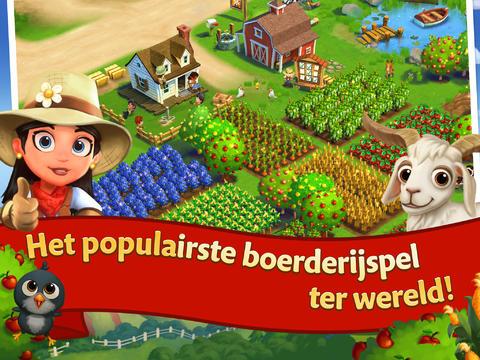 Farmville 2 voor iPad