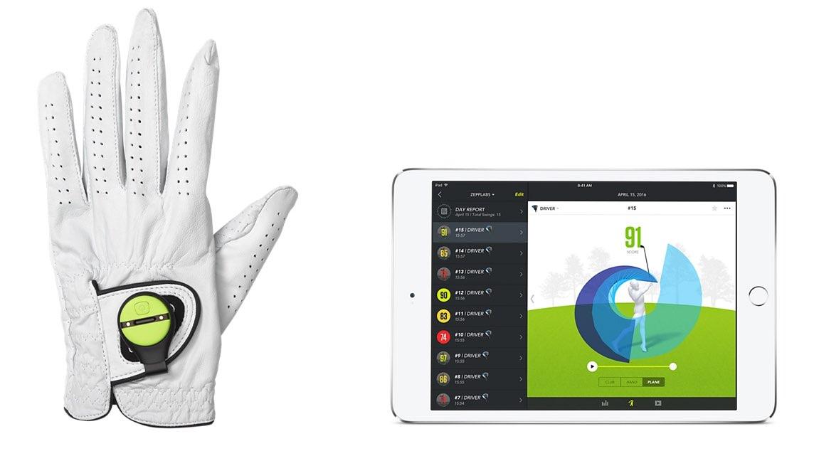 Zepp sensor golfapp