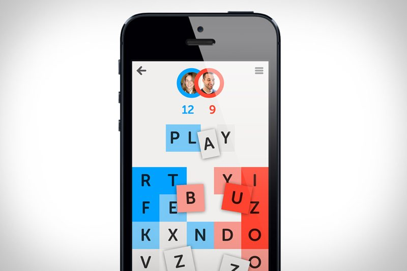 Letterpress iPhone-game