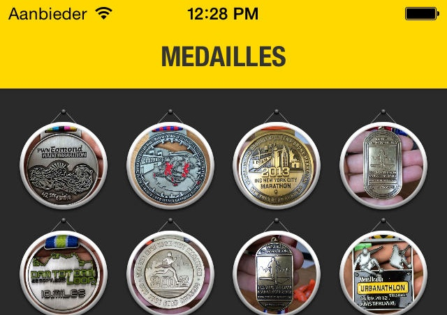 My Medals iPhone iPad