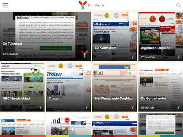Ynews Pro kranten nieuws vertaald iOS
