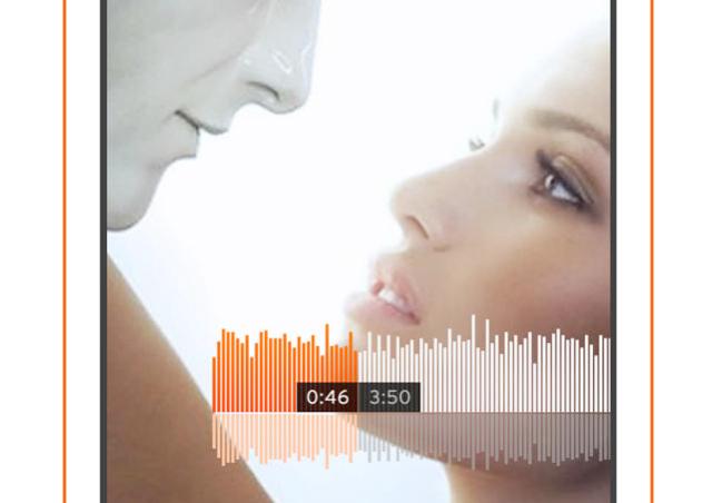 SoundCloud nieuwe interface iPhone app