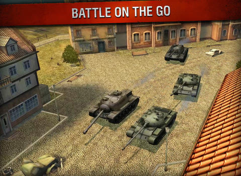 World of Tanks Blitz gevechten online
