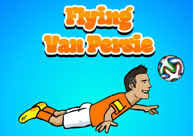 Robin van Persie Flappy Bird games iOS