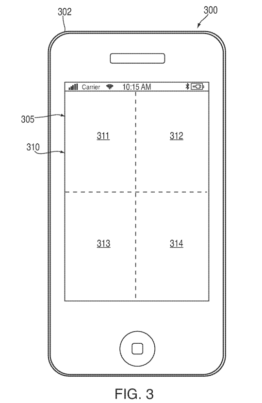 E-paper iPhone patent