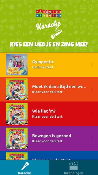 Kinderen voor Kinderen iPhone liedjes