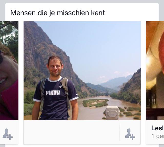 Facebook suggesties
