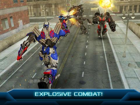 Transformers iPad iPhone shootout