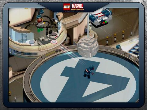 LEGO Marvel landingsplaats