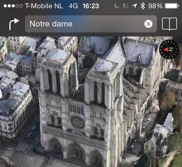 Flyover iOS