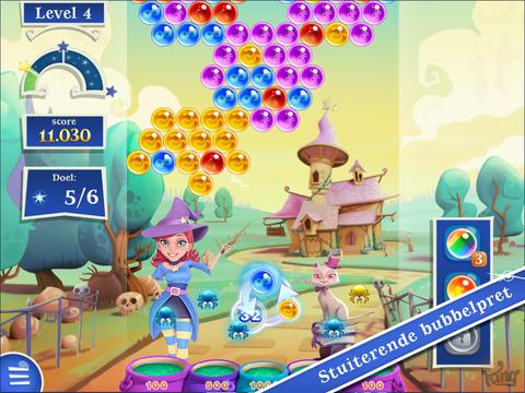 Bubble Witch Saga 2 ipad screenshot