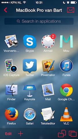 Parallels Access desktop