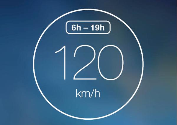 MAXS snelheidsmeter app iPhone