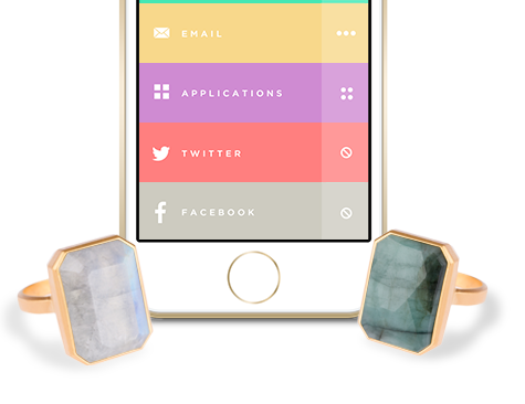 Ringly iPhone smart ring