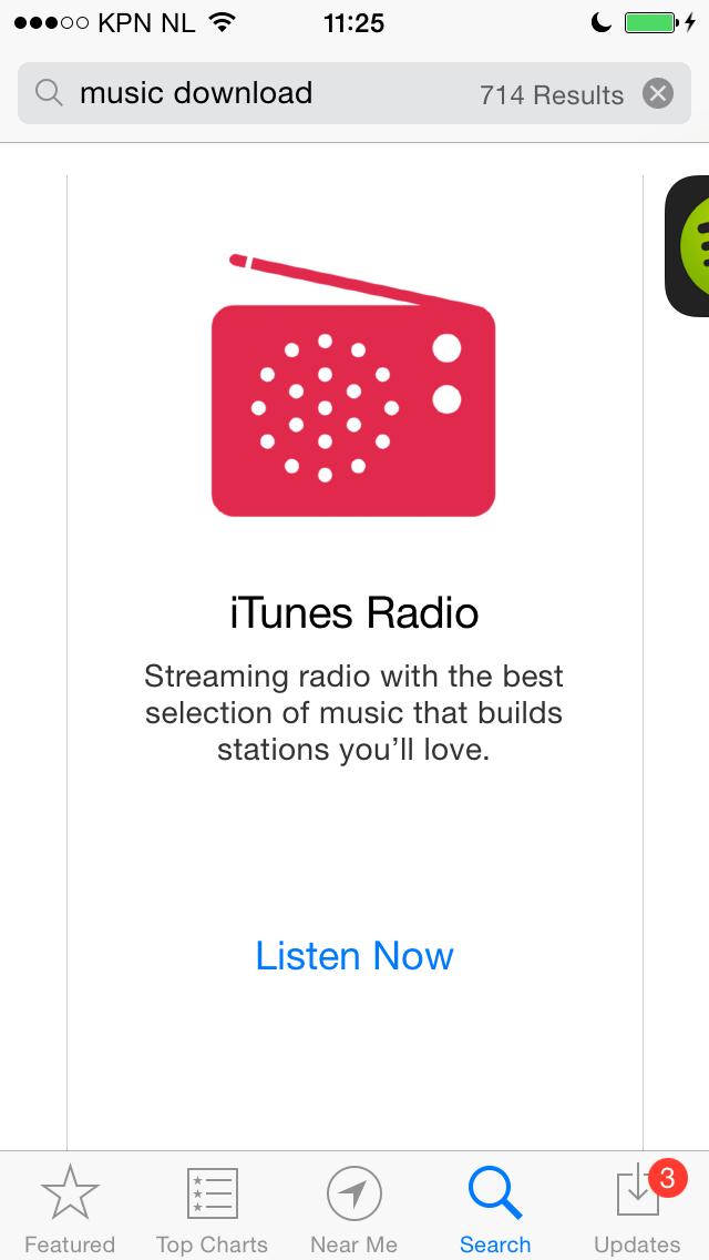 iTunes Radio music download