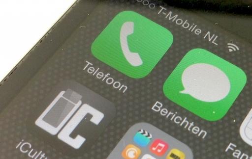iPhone telefoon-app iculture