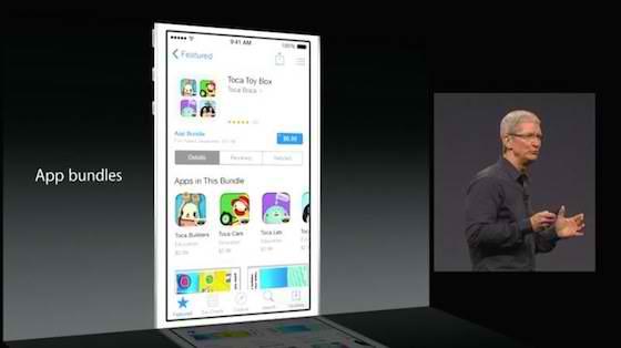 App Bundels App Store iOS 8