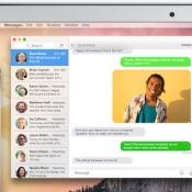 iMessage sms teksten uitwisselen Mac en iPhone
