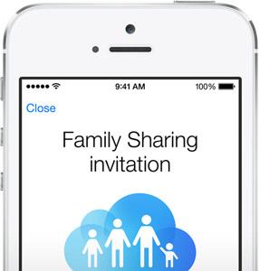 family-sharing-uitnodiging
