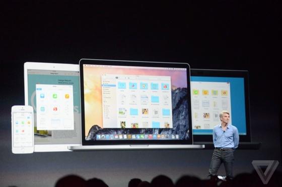 iCloud Drive iPad iPhone Mac OS X Yosemite