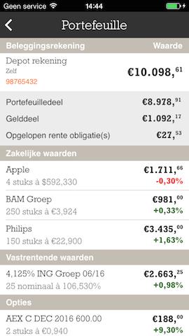 ING Bankieren beleggen details