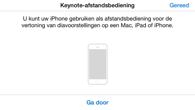 keynote remote iphone