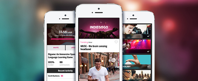 indiegogo app iphone