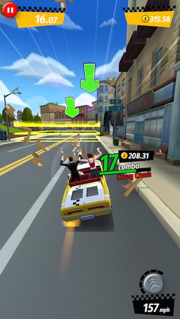 Crazy Taxi iOS 2