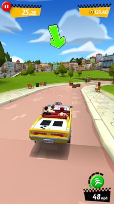 Crazy Taxi iOS 1